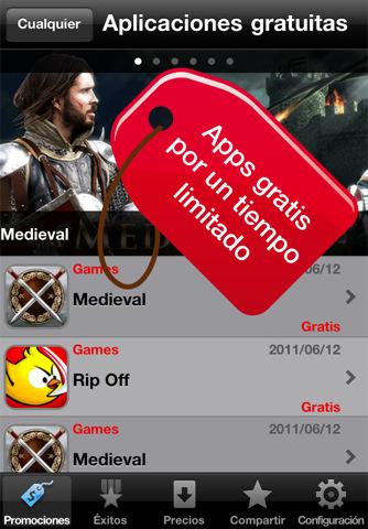 Apps gratis de España para ahorrar con el iPhone o iPod Touch
