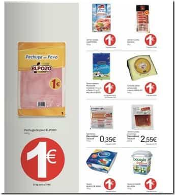 Carrefour Todo a 1 euro