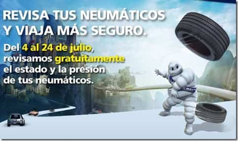 Michelin Revisa tus neumáticos gratis
