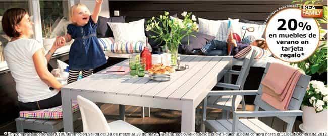 Ikea pone en oferta sus muebles de exterior c mo ahorrar el blog del ahorro - Mesas exterior ikea ...