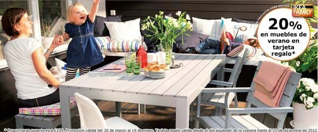 Ikea pone en oferta sus muebles de exterior c mo ahorrar - Mesas exterior ikea ...