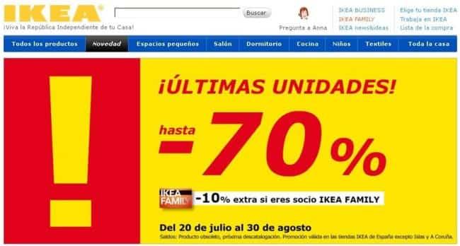 saldos Ikea