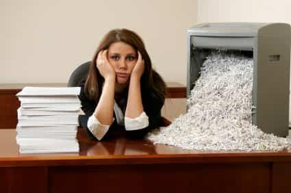 Destruir documentos