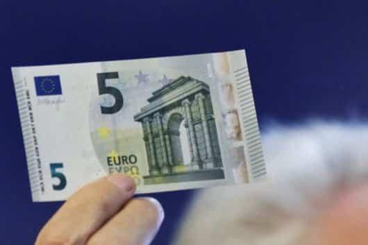 nuevo billete 5 euros