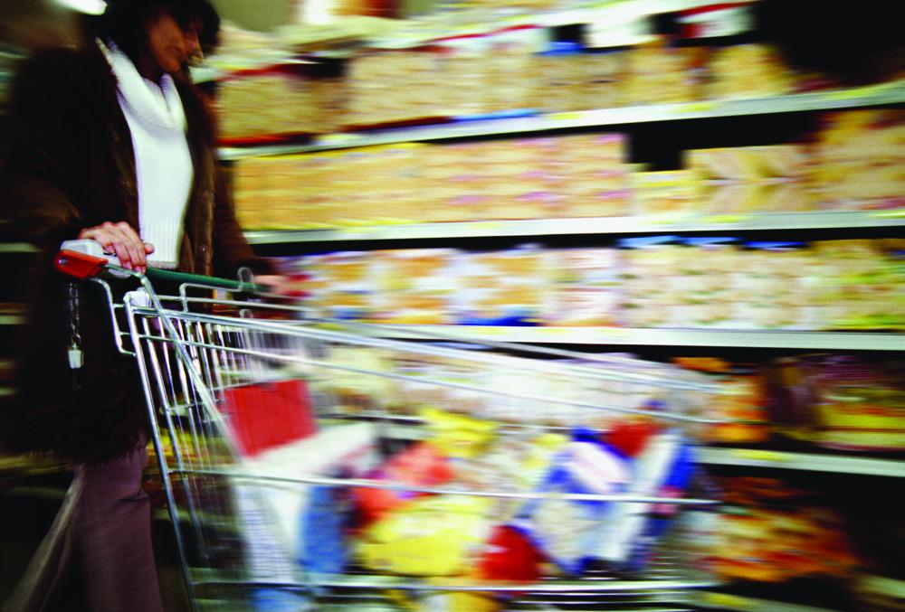 Compras alimentarias España