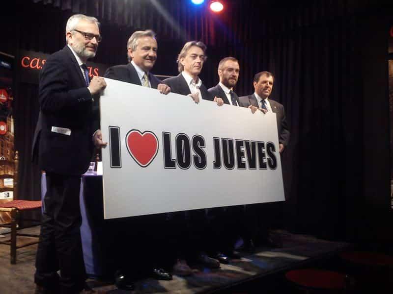 Vuelven los jueves en Madrid