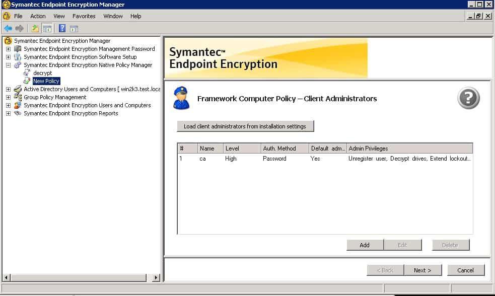 Symantec Endpoint Encryption 2