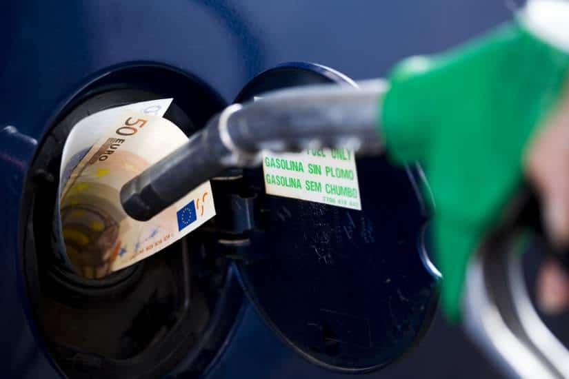 Que comerá inundar 98 gasolina