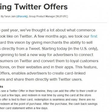 ¿Cómo ahorrar con Offers, la nueva herramienta de Twitter?