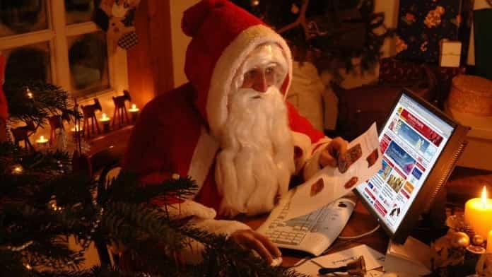 Navidad regalos Internet