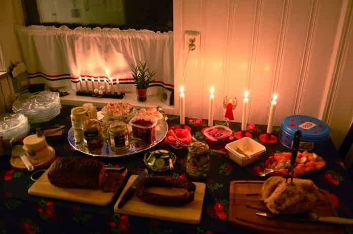 Ahorrar en la cena de Navidad