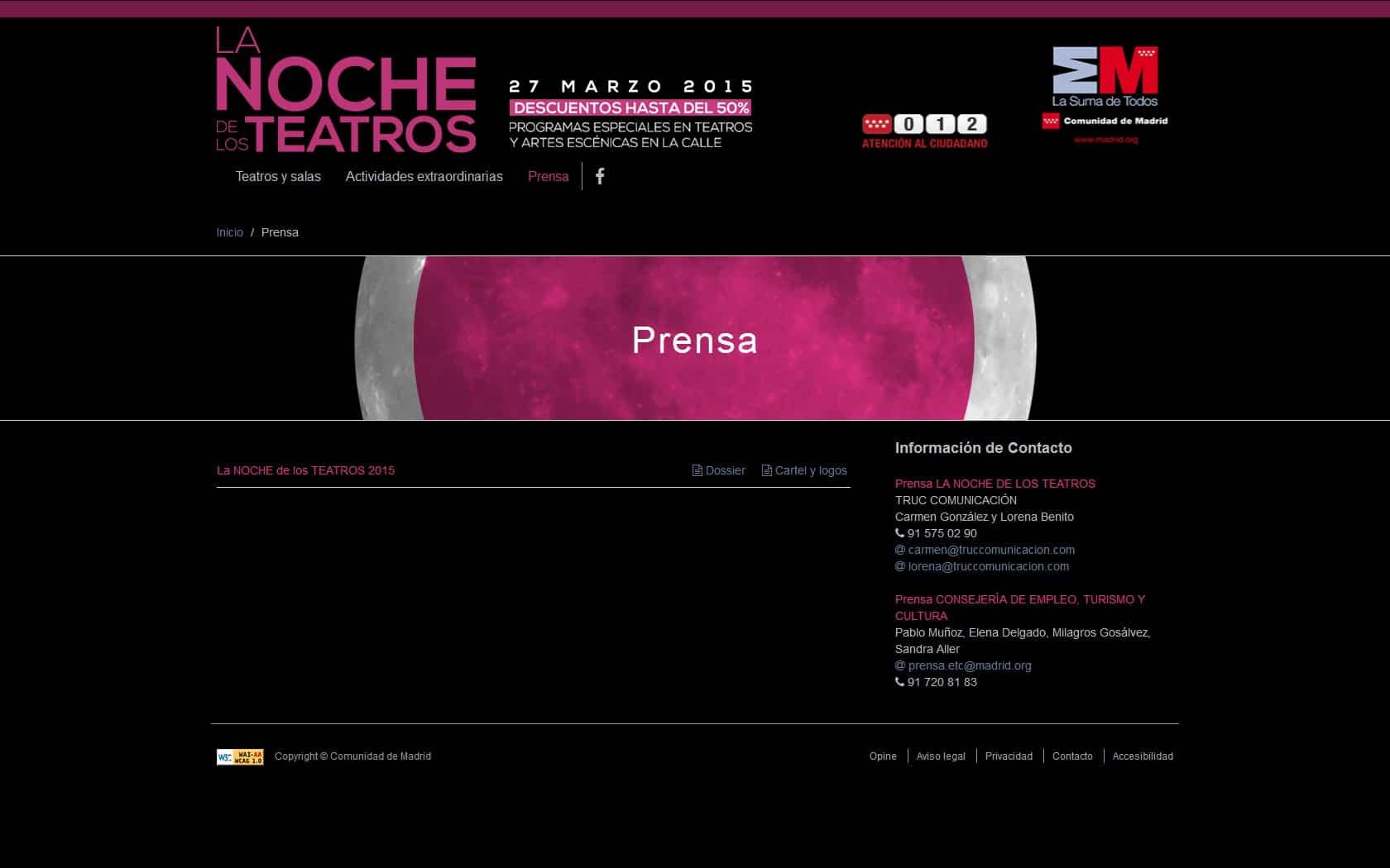 La Noche de los Teatros 4