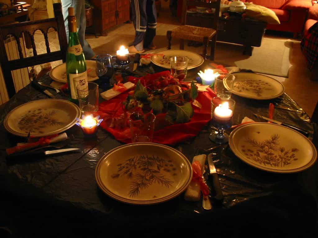 C mo preparar una mesa de navidad - La mesa en navidad ...