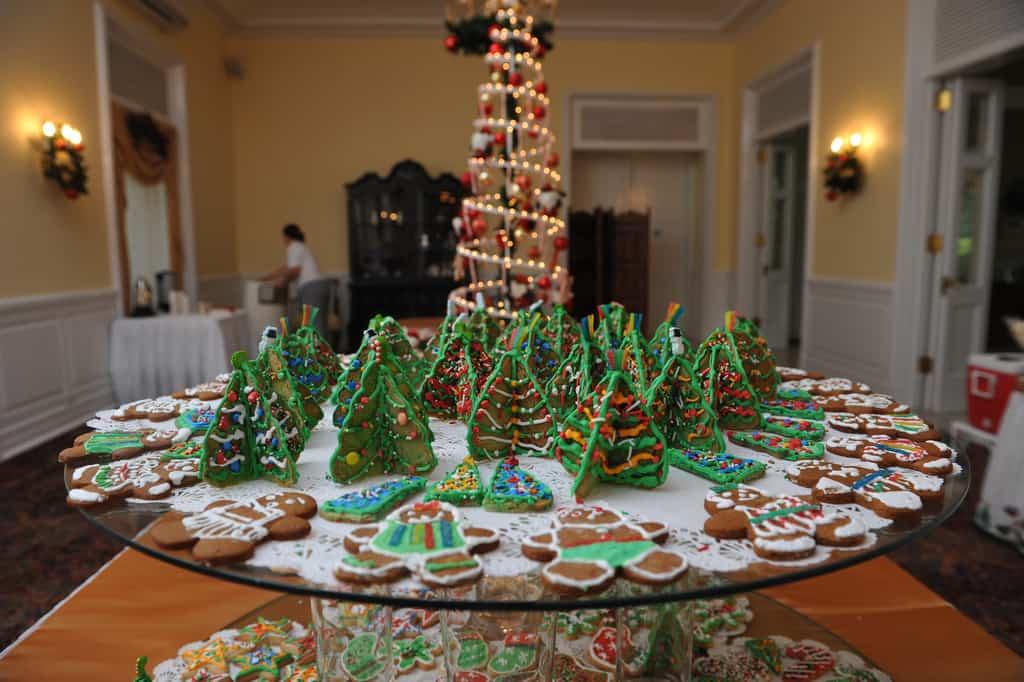 Preparar una mesa de Navidad