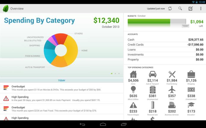 aplicaciones moviles para ahorrar dinero 6 mint